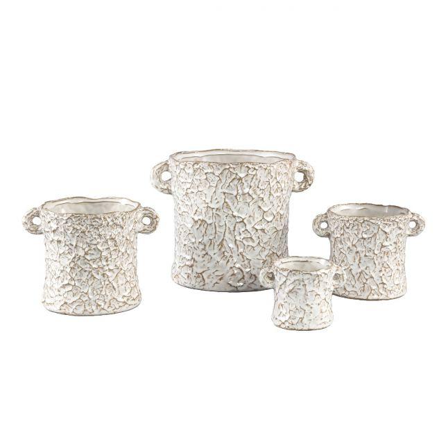 Vaso Desert | Vaso in ceramica effetto carta stropicciata