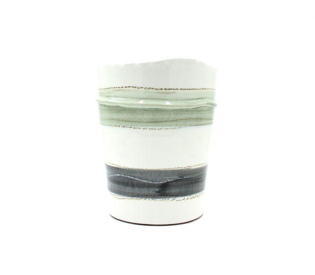 Vaso Fenice con fasce H32