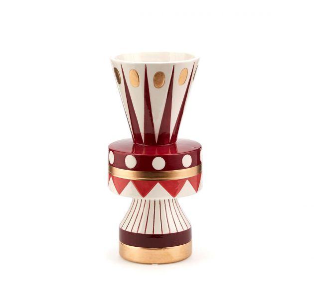 Vaso Geometrie H25 : Vaso decorativo geometrico