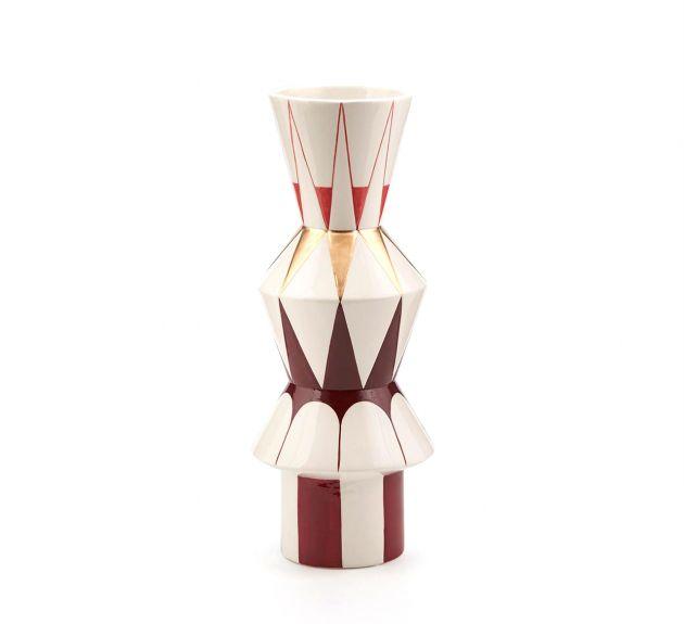 Vaso Geometrie H33 : Vaso geometrico decorativo