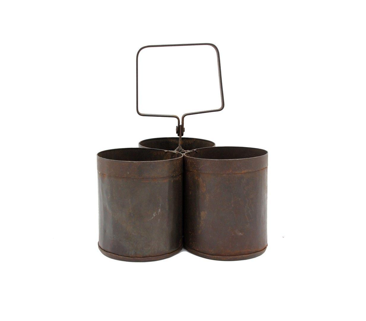 Secchielli in ferro vintage