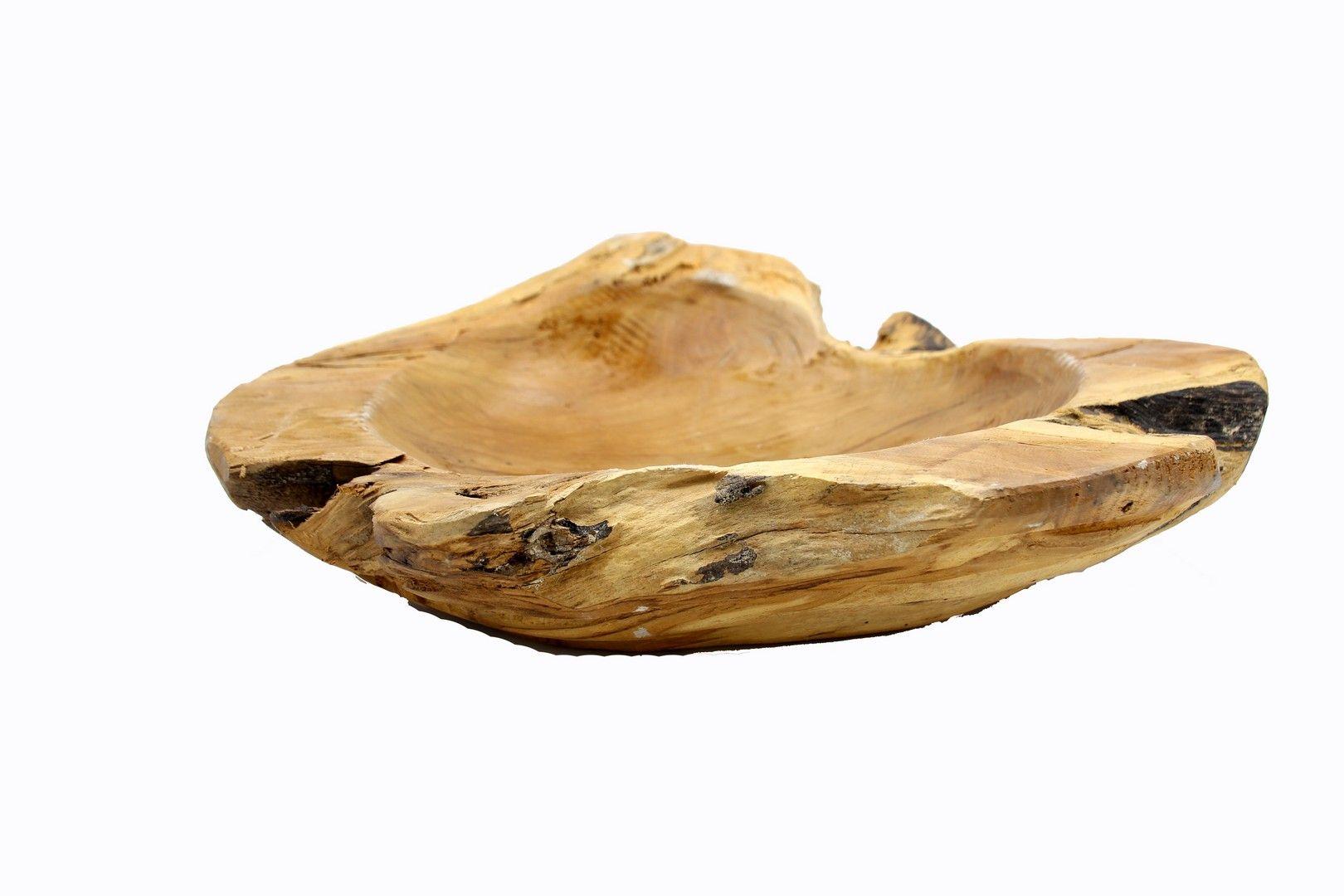 Ciotola Borra in legno di teak L