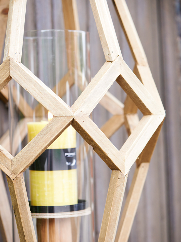 Lanterna Cubist grande