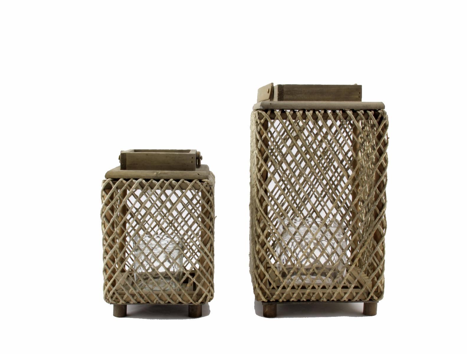 Lanterna Sheen [vari]: lanterne in legno D&M