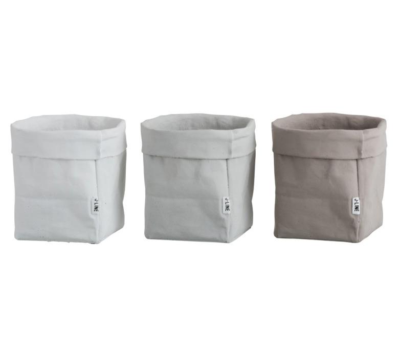 Vaso Sacco L [vari]: portavasi in cemento design J Line