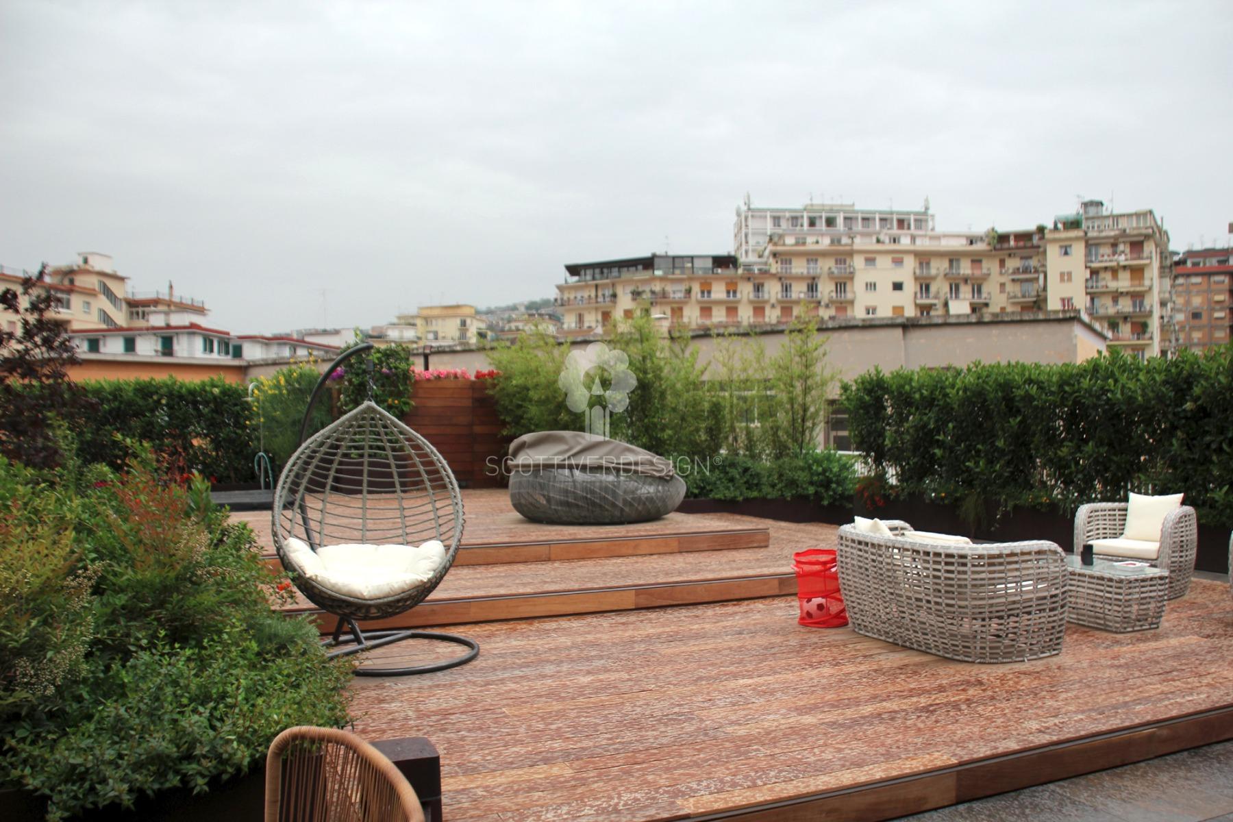 Giardino pensile sul terrazzo-scottiverdesign - Scottiverdesign.it ...